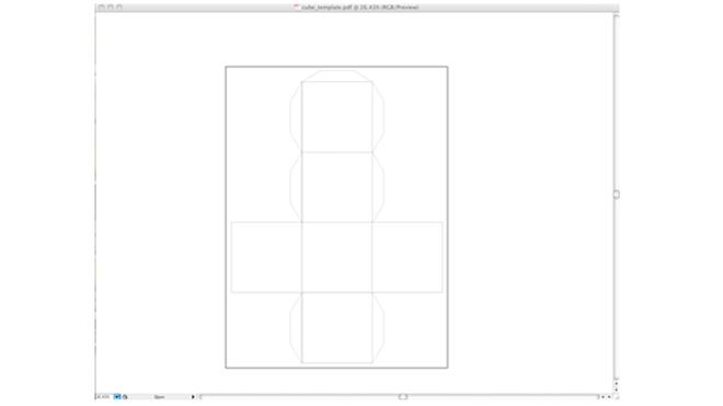 how to create rectangular cube in illustratpr