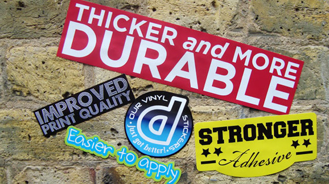 New and improved Vinyl Stickers at Diginate! | The ...