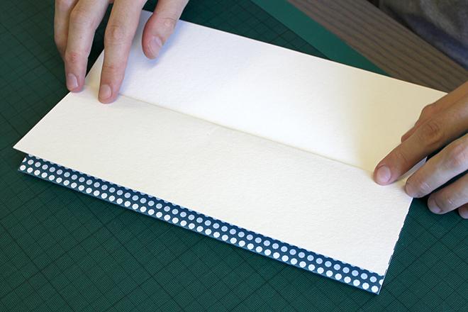 Folding giclee art print