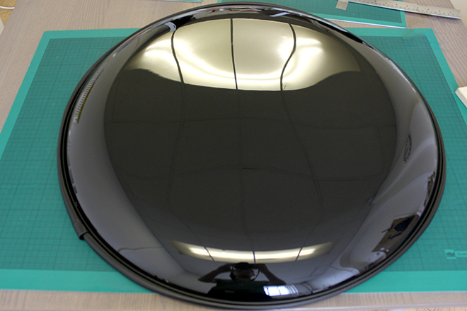 Blank wheel cover