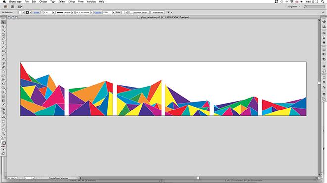 Designing window graphics
