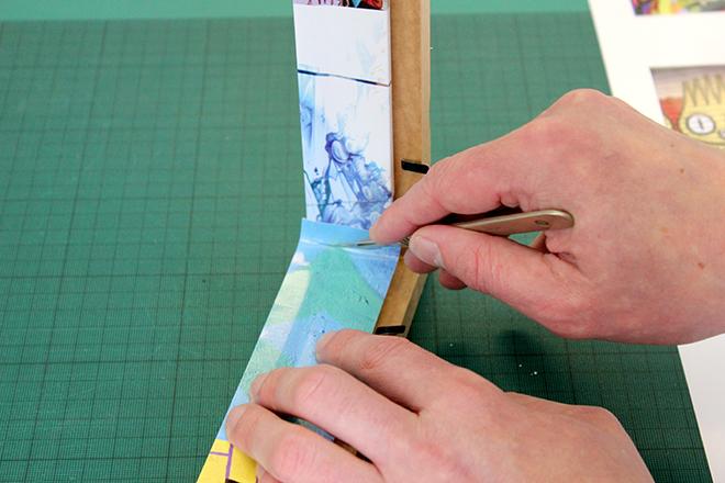 Vinyl frame wrap
