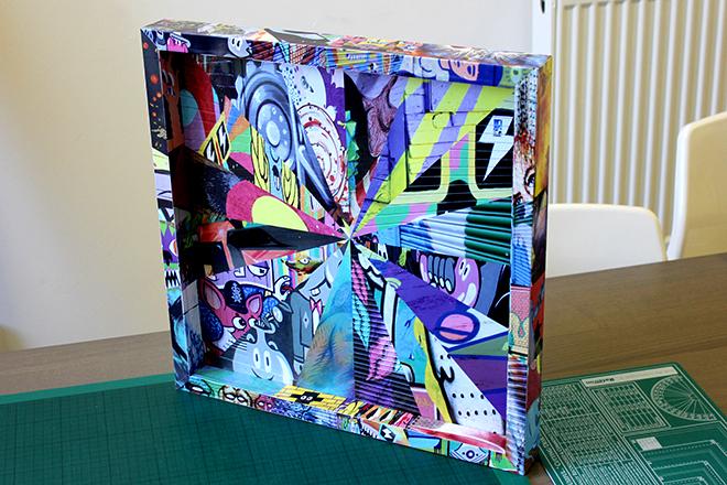 Frame wrap graphics