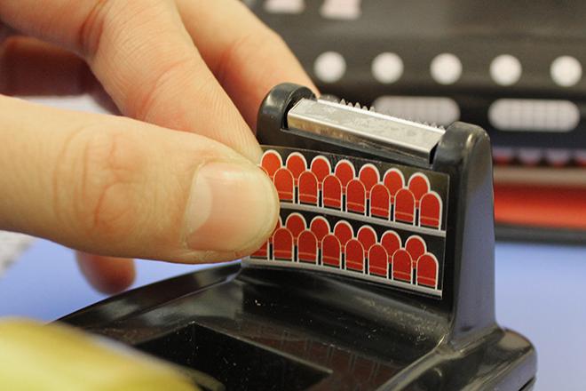 Tape dispenser stickers