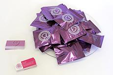 Foil sticker packs