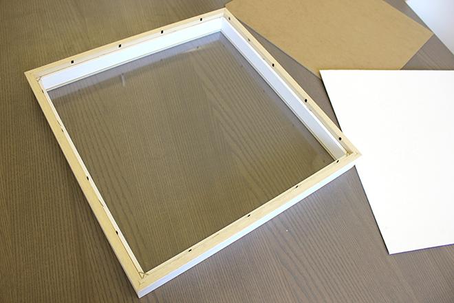 LED frame construction