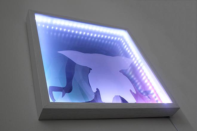 led movie lightbox