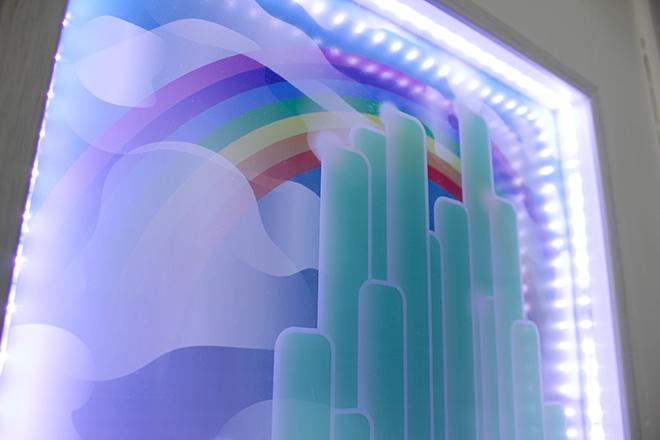 illuminated movie graphics