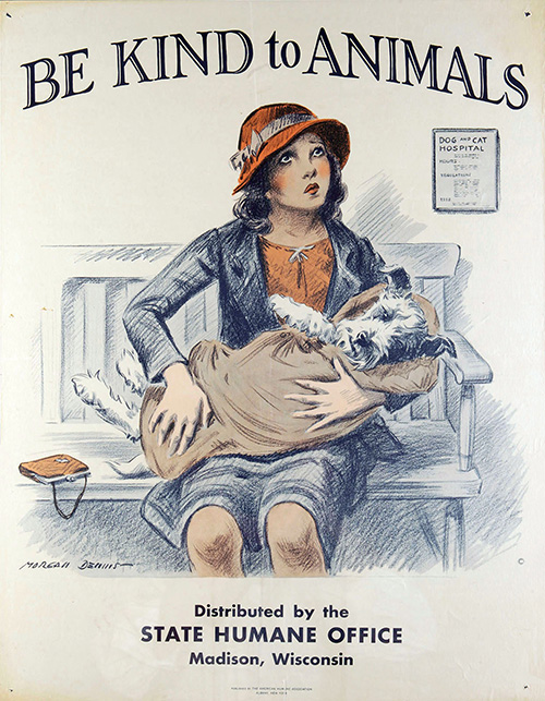 vintage animal poster