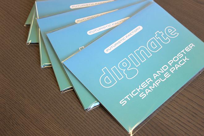 sticker sample packs