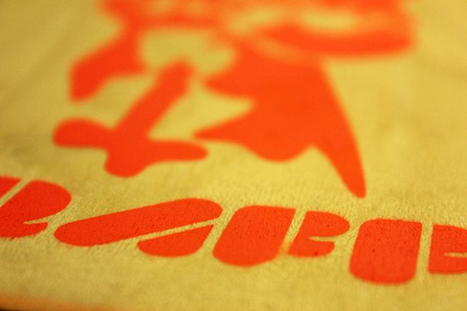 spraypaint stencil sticker