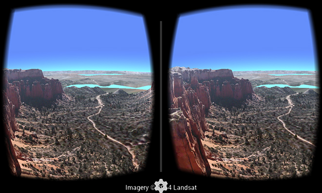 google earth vr app