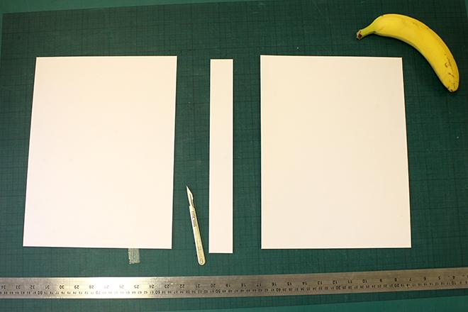 magazine file cardboard