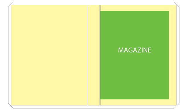 magazine file template