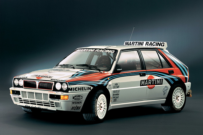 lancia delta integrale graphics