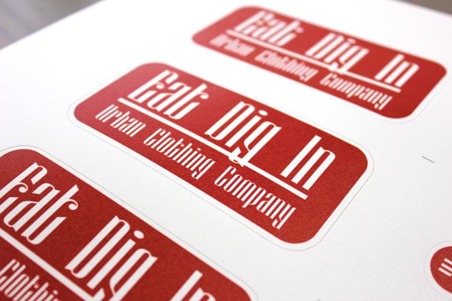 custom cut vinyl tags