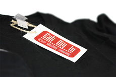 Here's how to make vinyl sticker clothing tags