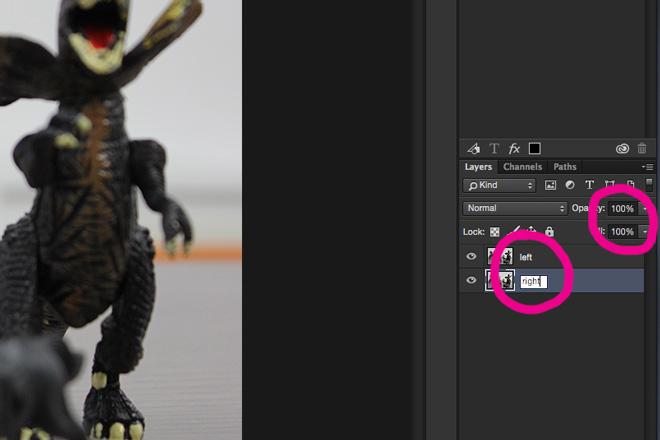 photoshop 3d layer naming