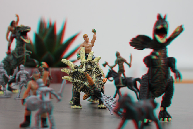 make your own 3d image
