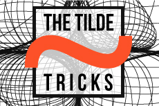Illustrator tutorial: The tilde trick