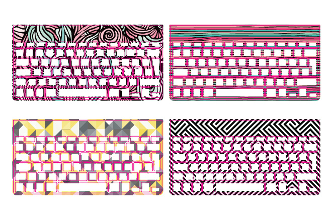 custom keyboard designs