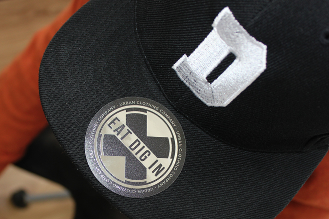 silver snapback stickers