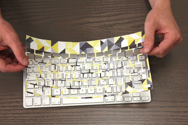 Vinyl keyboard skin for mac wireless
