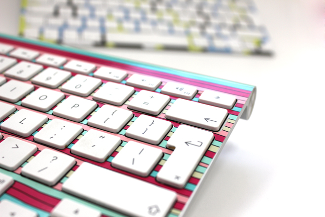 Printed mac keyboard custom mac keyboard wrap
