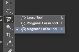 magnetic lasso tool tutorial