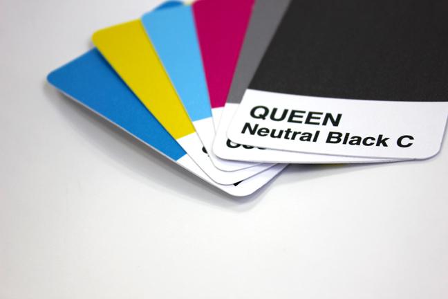 spot colour cards