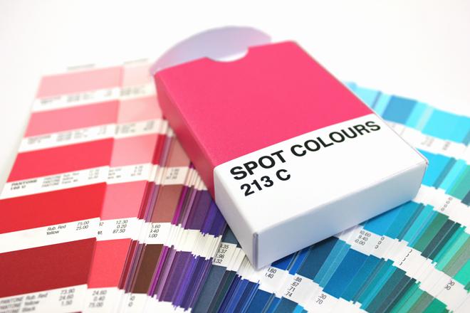 spot colour box