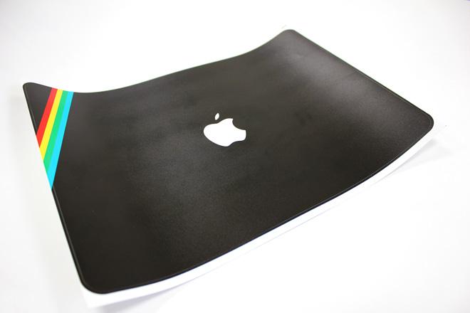zx spectrum macbook skin