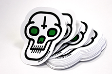 Die cut stickers now available at Diginate!