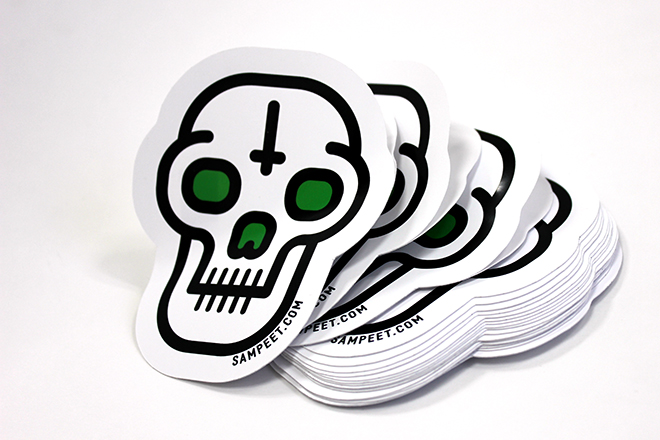 Design Die Cut Stickers