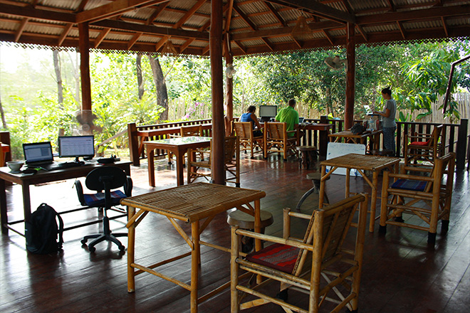 koh lanta thailand co-working space