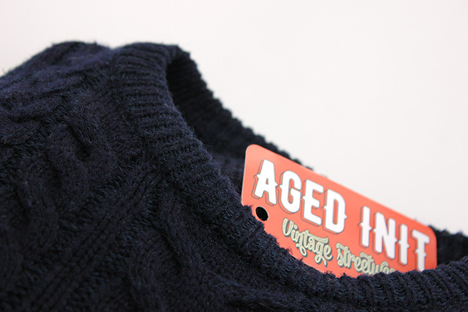 clothing tag for vintage streetwear