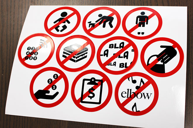 office_warning_stickers