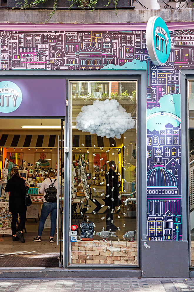 we built this city shop london