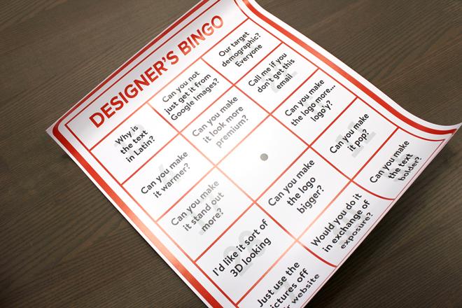 giant bingo chart
