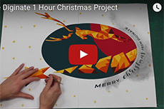 We had 1 hour and £11.57 to make a Christmas video