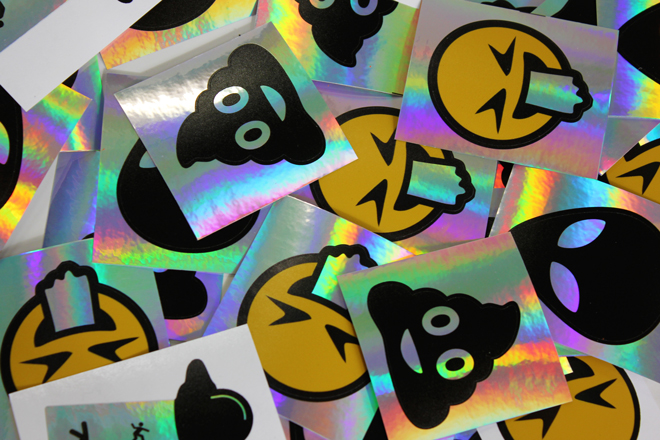 Petrol sticker printing