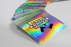 Holographic stickers are here to stay!