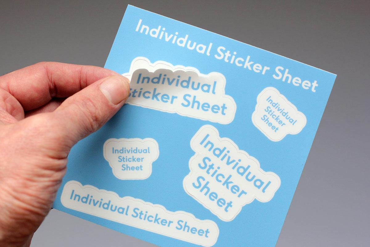 custom sticker sheet printing