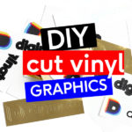 How to use Diginate stickers as DIY cut vinyl graphics